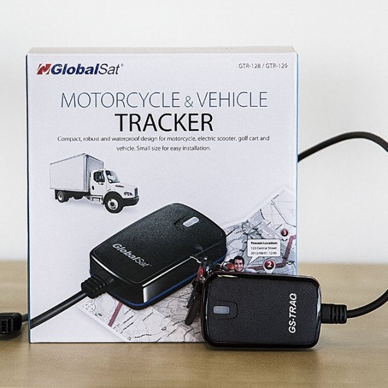 GPS Tracker for båt, MC og bil